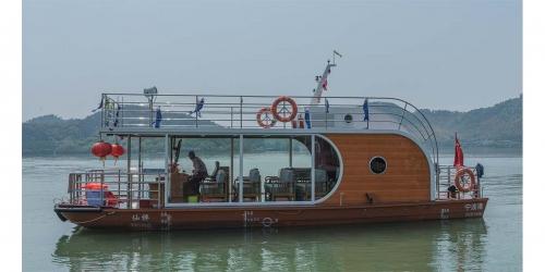 12米舷内外机休闲客船